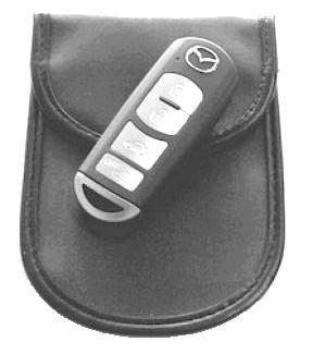 Pokrowiec zagłuszający kluczyki ZG-5