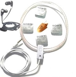 Mikro słuchawka przewodowa