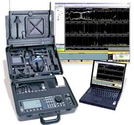 wykrywanie podsłuchów OSCOR 5000 + PC