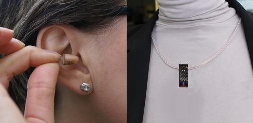 mikro słuchawka