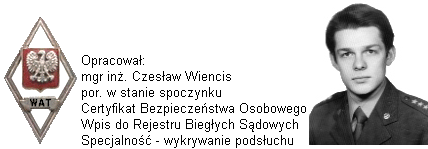 wykrywanie podsłuchu Warszawa, wykrywanie podsłuchów Warszawa